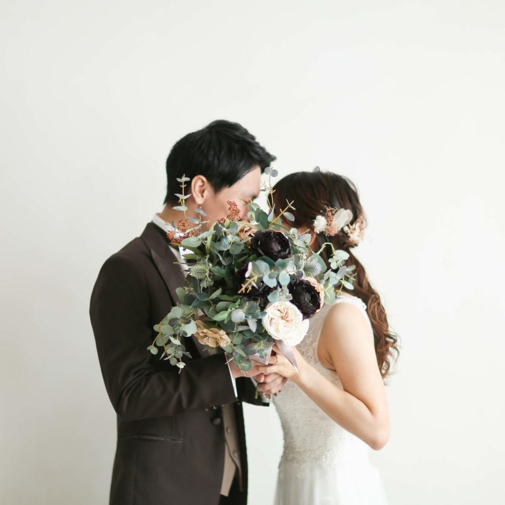 結婚式では撮れない写真を、前撮りで