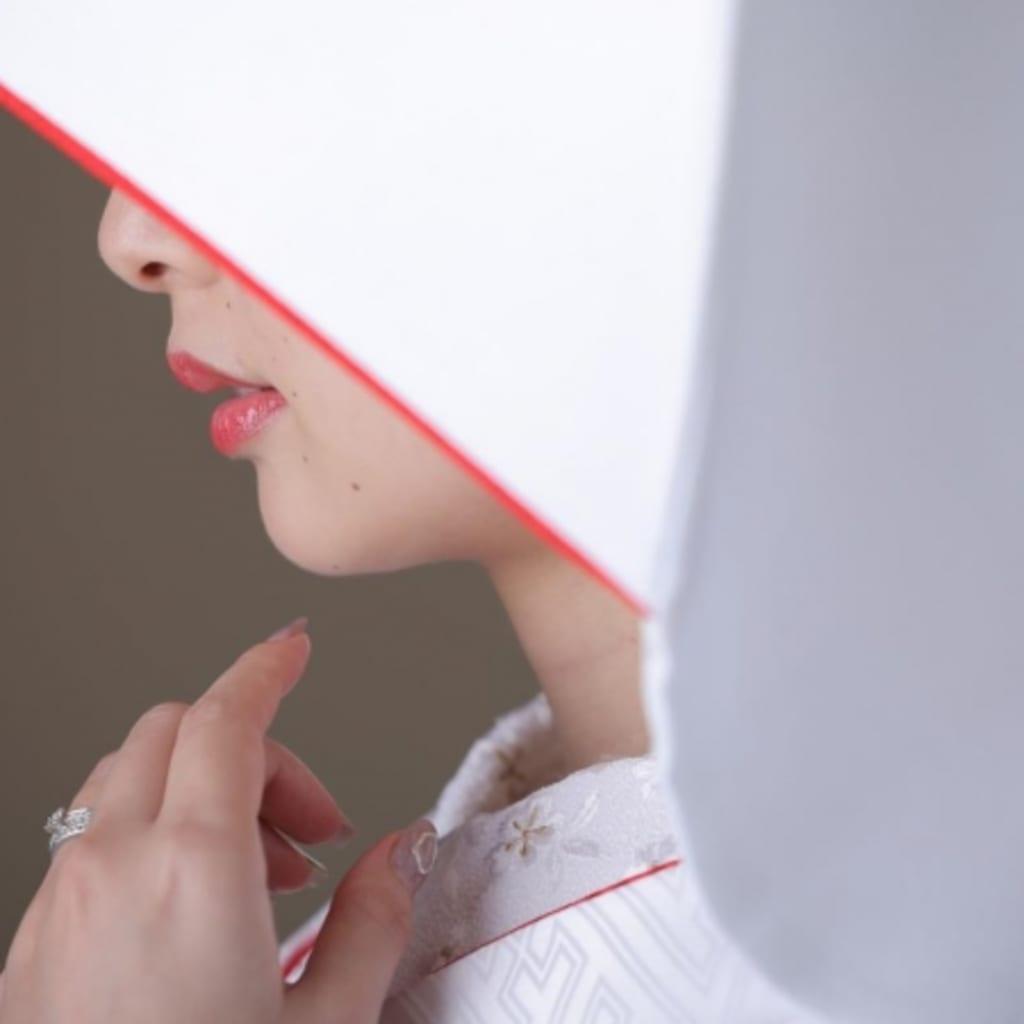 洋髪綿帽子