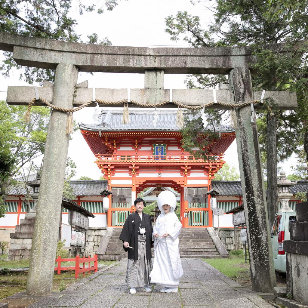 初夏、新日吉神宮が綺麗!