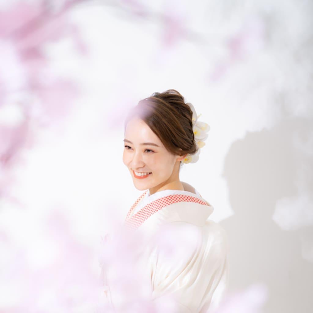 室内で桜!?