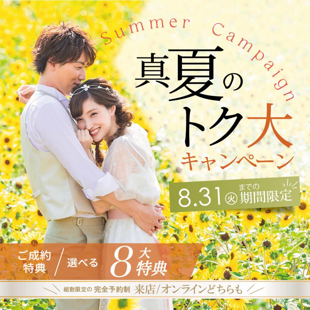真夏のトク大!キャンペーン