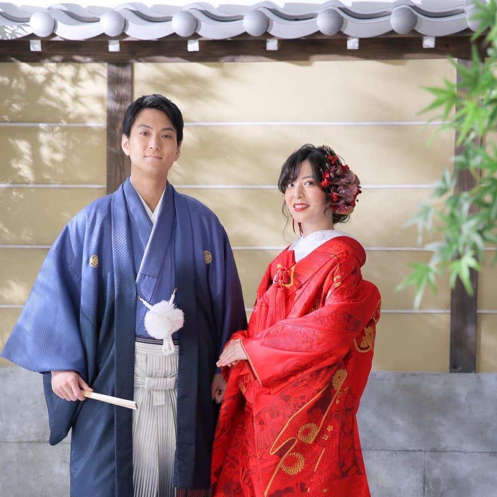 ☆新作のお衣装☆【赤無垢金織熨斗】