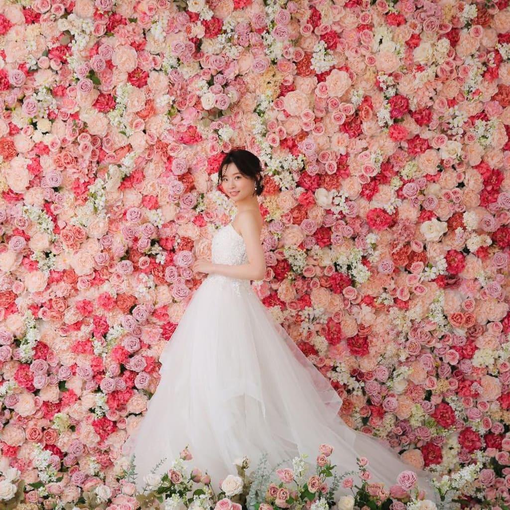 一面お花のフラワースタジオが九州・福岡に新登場。フォトウェディング「スタジオ AN」スタジオリニューアル