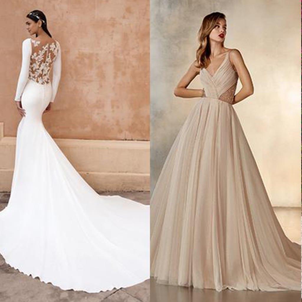 海外ブランドの2021年新作ドレス、予約受付スタート。『PRONOVIAS』を含む多数のドレスが全国のスタジオに