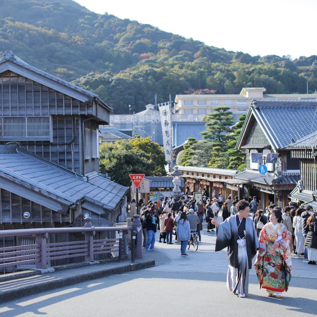 伊勢ロケ「思い出の場所&日本一のパワースポット」