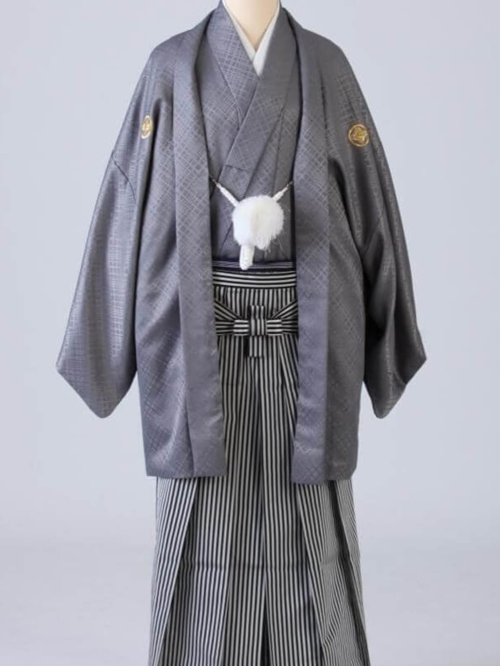 グレー紋服 仙台平袴_横浜店