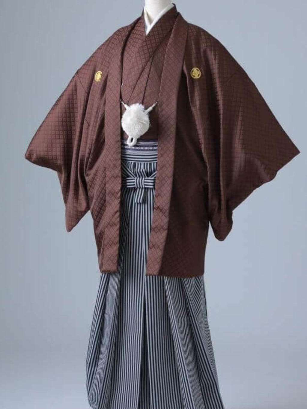 ブラウン紋服 仙台平袴_横浜店