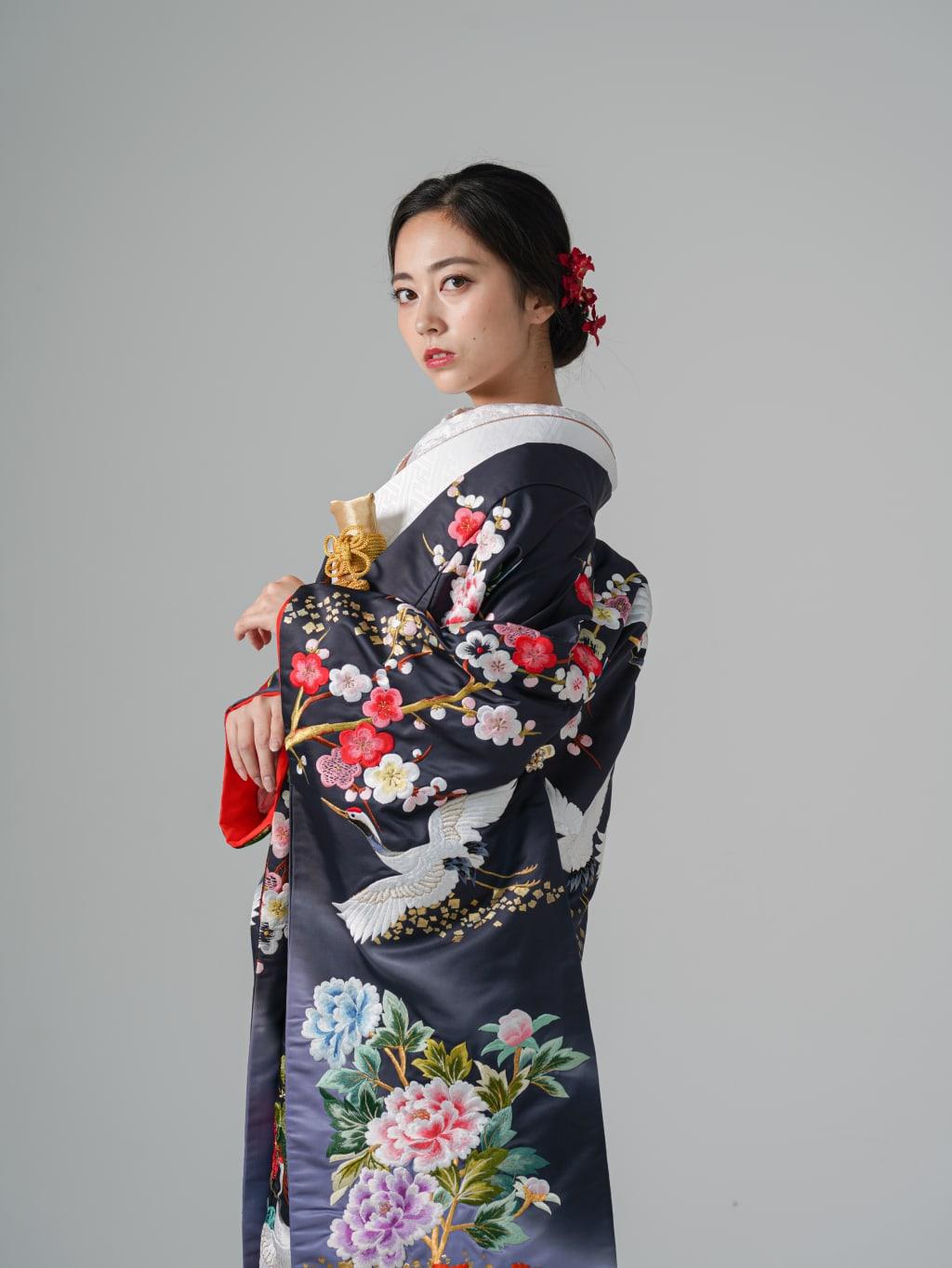鶴 梅 四季花_大宮店