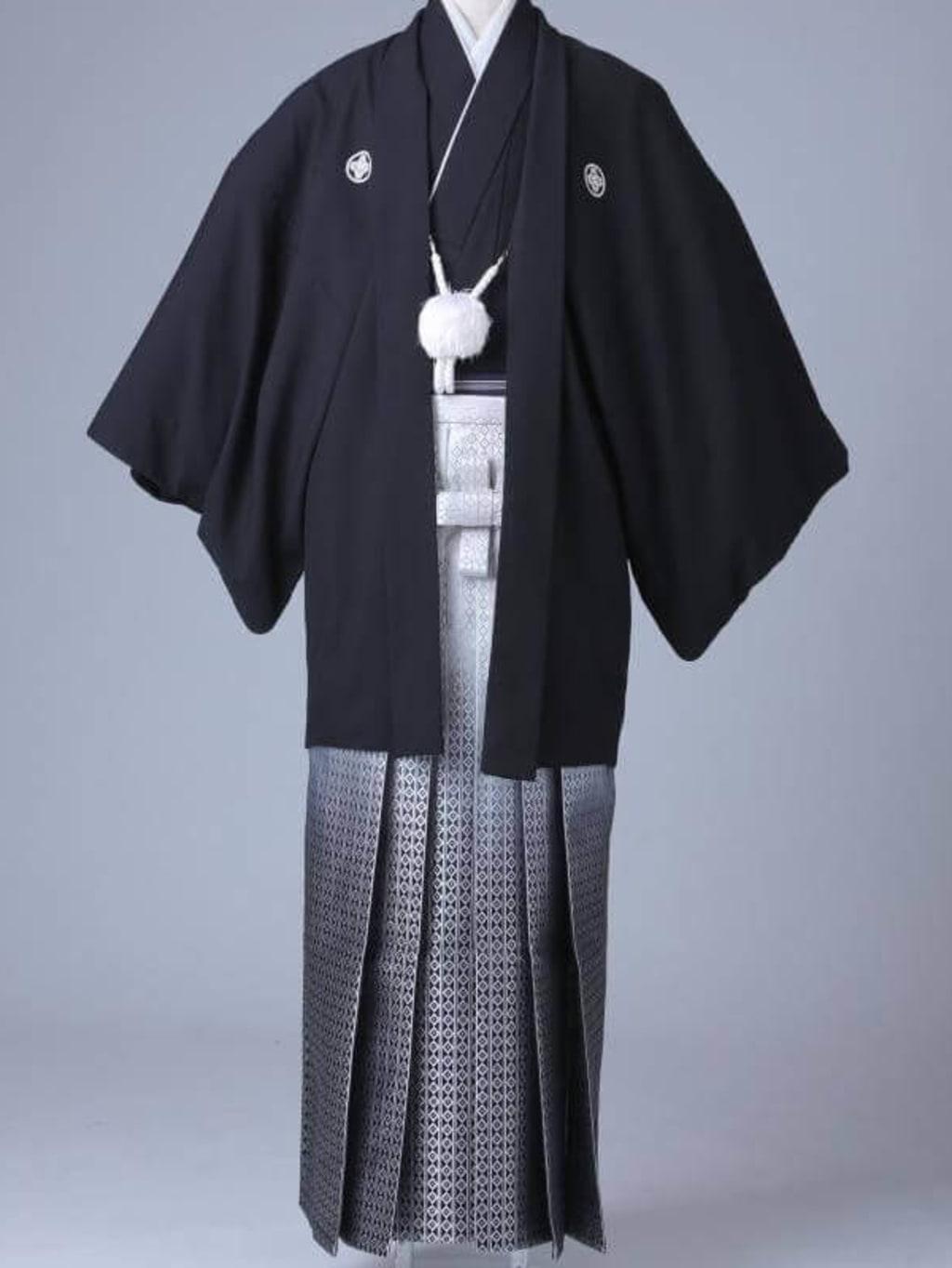 黒紋服 グラデーション袴_横浜店