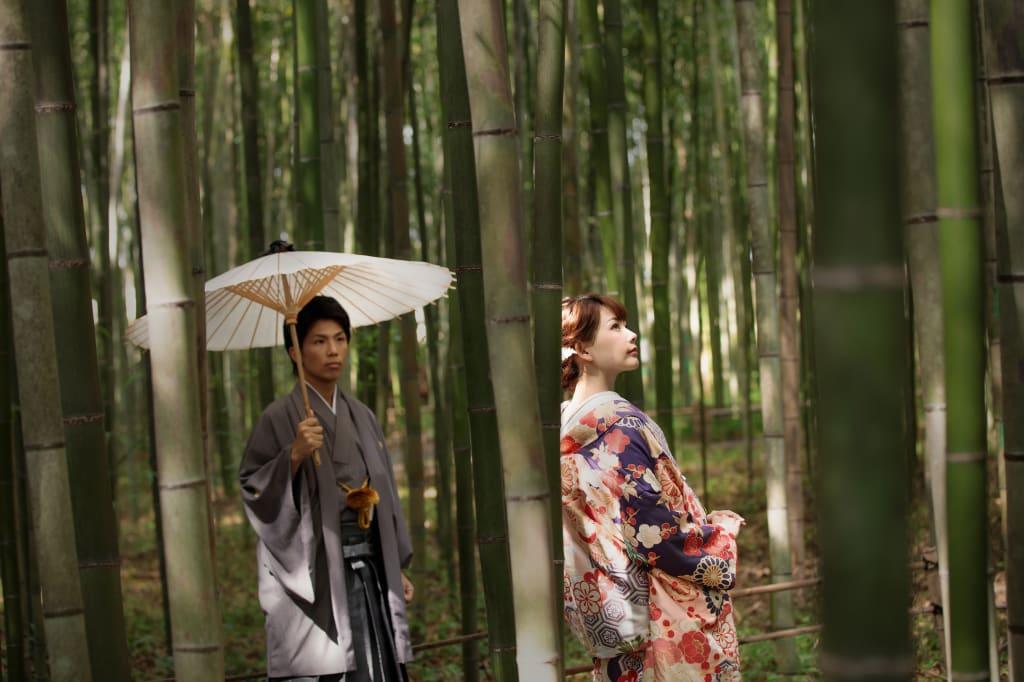 【期間限定フォトジェニックジャーニー】京都嵐山 和装2着ロケーションプラン