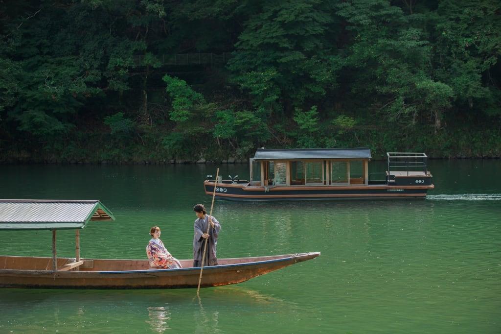 【期間限定フォトジェニックジャーニー】京都嵐山 和装ロケーション+選べるオプション