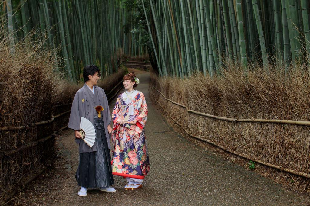 【期間限定フォトジェニックジャーニー】京都嵐山 和装ロケーション