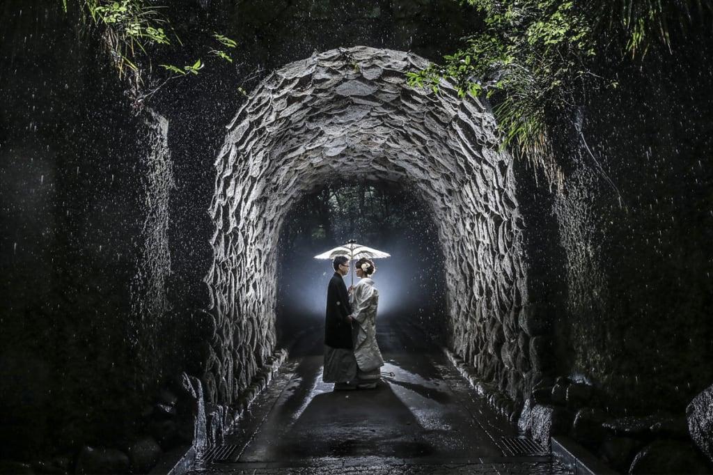 鎌倉文学館ロケーション