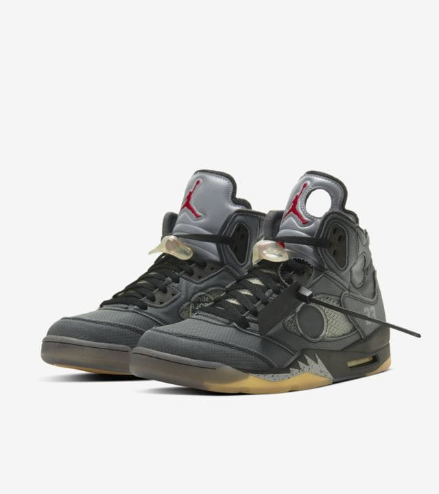 有名デザイナーとの「NIKE AIR JORDAN 5 THE VIRGIL ABLOH CHICAGO COLLABORATORS' COLLECTION」コラボ!!