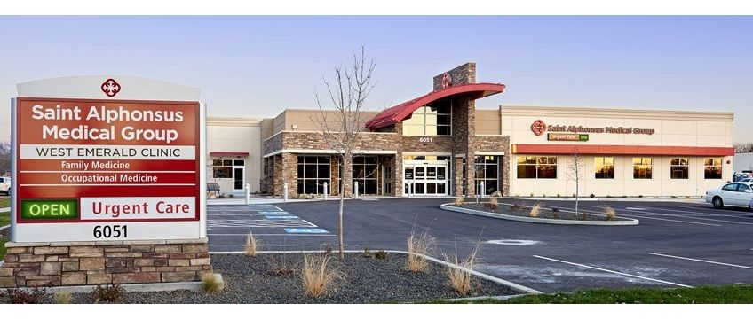 Saint Alphonsus Medical Group Emerald Clinic Urgent Care | 6051 W Emerald St, Boise, ID, 83704 | +1 (208) 302-5150