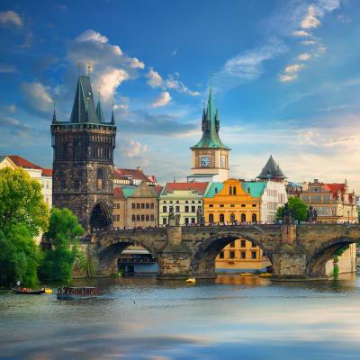 Fyra vackra huvudstäder