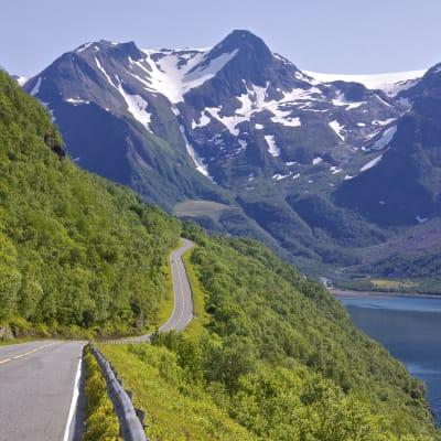 Vackra Lofoten med Inlandsbanan