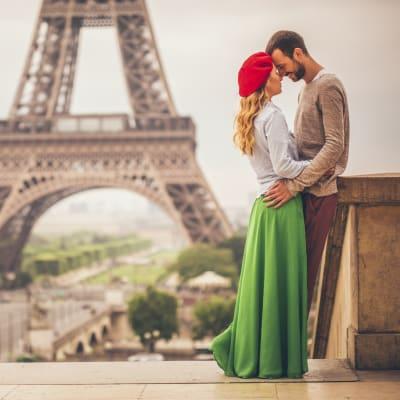 Paris med Brygge och Mosel
