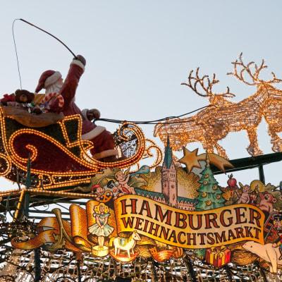 Hamburg - Lübecks julmarknad 3 dagar