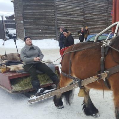 Röros vintermarknad med Norsk Skogsmuseum