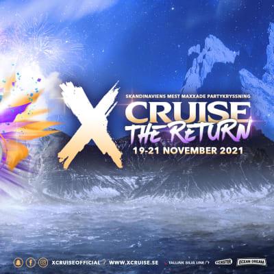 Buss till partykryssning X-Cruise med Tallink