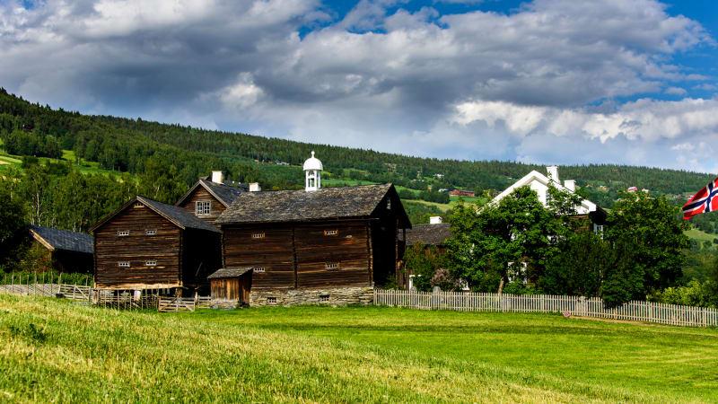 Från Dombås via Gudbrandsdalen hemåt.