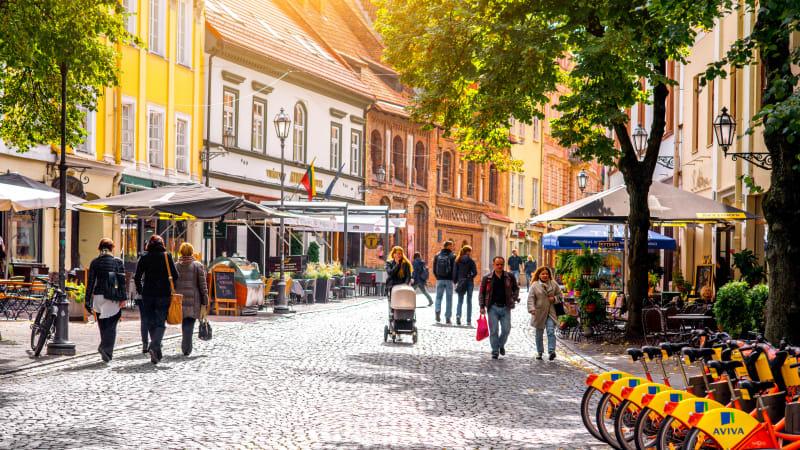 Vilnius - stadsrundtur och egna upptäckter