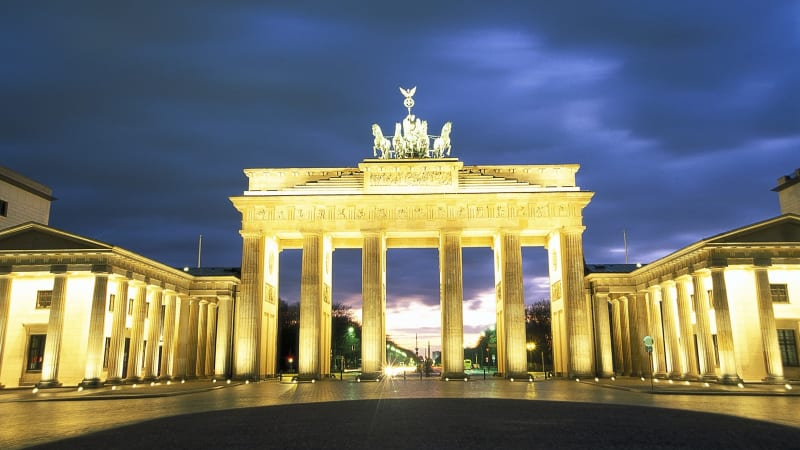 Middagsutflykt med rundtur i det upplysta Berlin