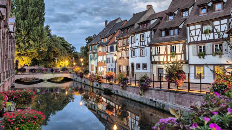 Världens vackraste stad - Colmar