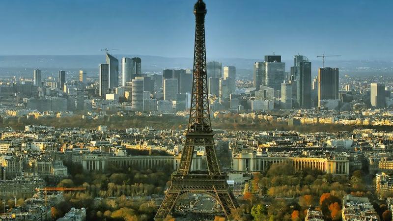 Paris och resan hemåt