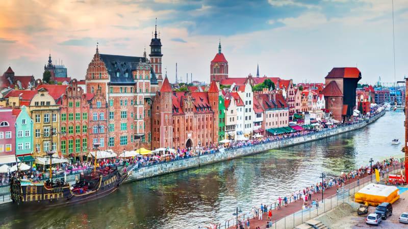 Sommarfesten i Gdansk