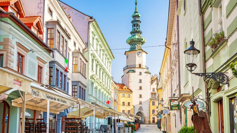 Bratislava - skönheten vid Donau