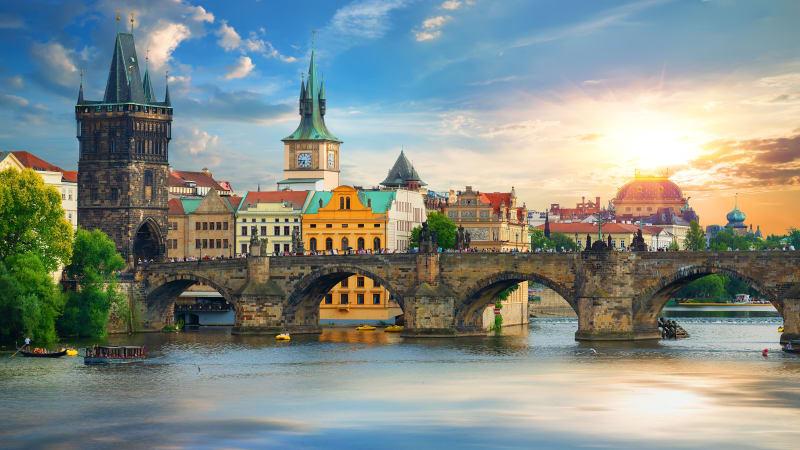 Tre dagar i Prag
