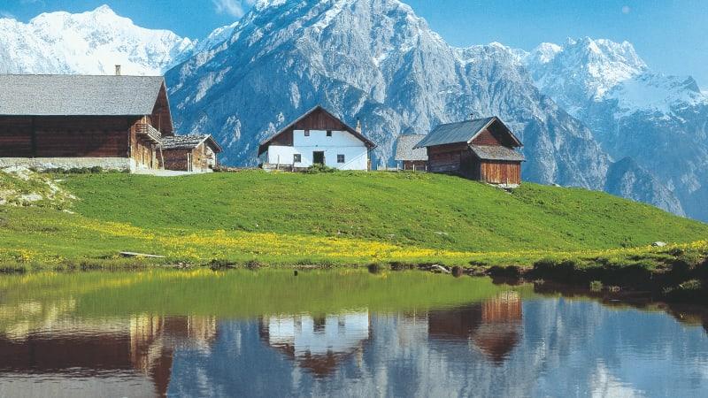 Genom Tyskland till Österrike