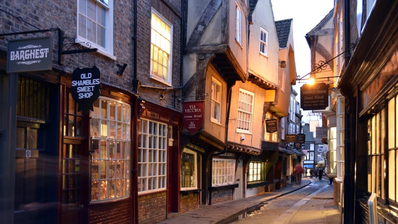 York - Vikingarnas stad & lite Harry Potter