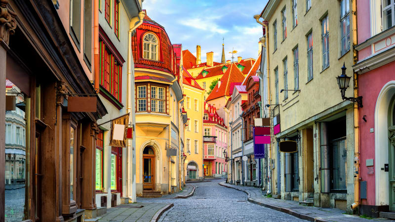 Utforska Tallinn