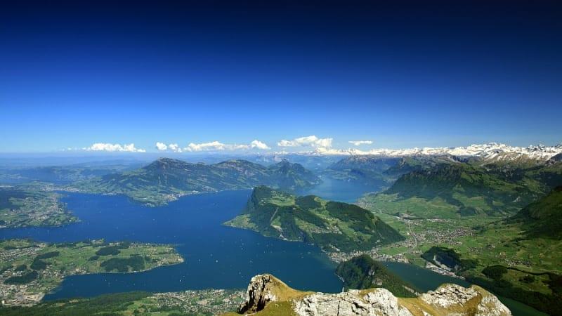 Utflykt till Vierwaldstättersee och Luzern
