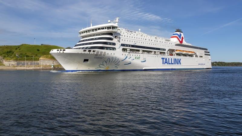 Mot Stockholm och färjan mot Tallinn
