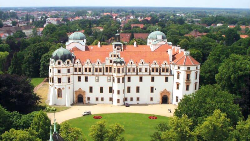 Vackra Celle med guide och fri tid