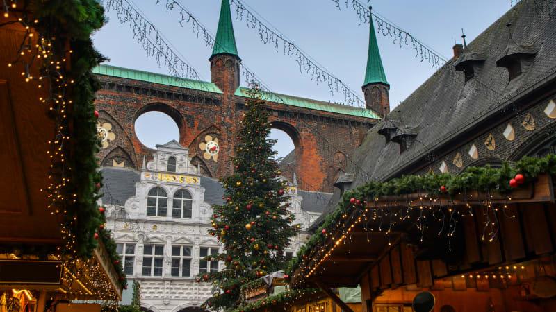 Hemorten - Lübecks julmarknad - Ahrensburg