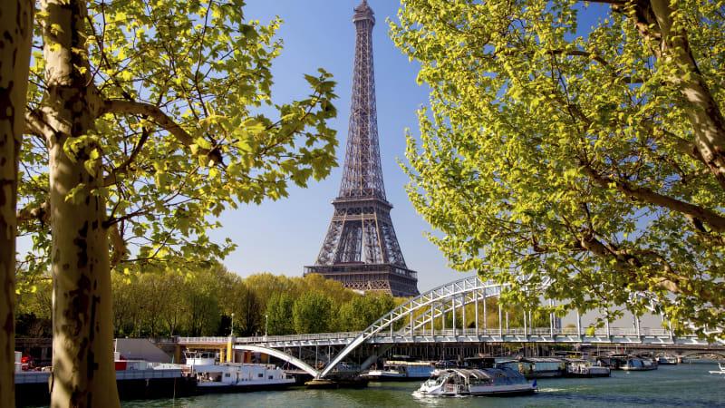 Stadsrundtur och båttur på Seine