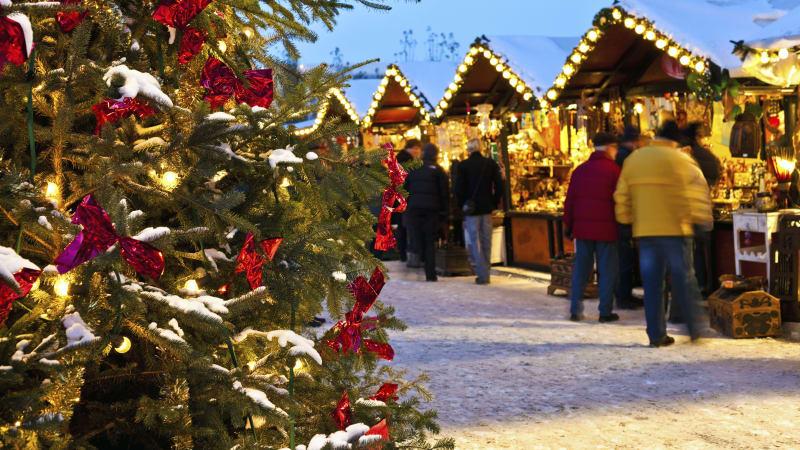 Julmarknadsdag i mysiga Celle