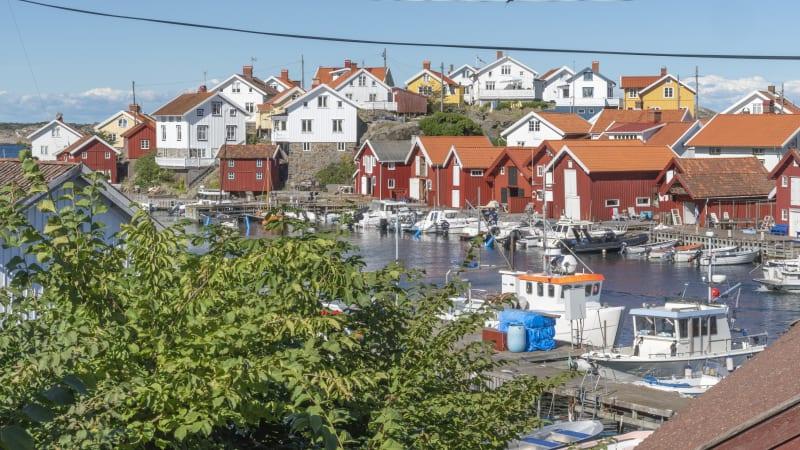Rönnäng, Kyrkösund, Gullholmen, Malö och Flatö