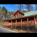 Cabin exterior of Eden Crest Vacation Rentals, Inc. - A Little Slice of Heaven.