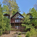 Exterior view of Eden Crest Vacation Rentals, Inc. - Black Bear Hideaway.