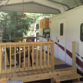 Camper exterior at Berry Creek, LLC - Tailgate Camper.