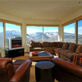 Rental living room at Frias Properties of Aspen - Red Mountain Retreat.