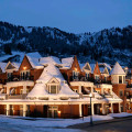 Exterior view of Frias Properties of Aspen - Hyatt Grand Aspen.