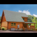 Cabin exterior at Eden Crest Vacation Rentals, Inc. - Bear Tracks Bungalow.
