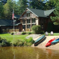 Exterior View of Camp Wildlife | On Mirror Lake